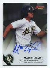 Matt Chapman 2015 Bowman's Best Rookie Prospect Auto Autograph On-Card Mint A's