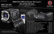 NEW Sony PMW-F55 CineAlta Official Starter Kit Level I: w/ Sony SCL-Z18x140 Lens