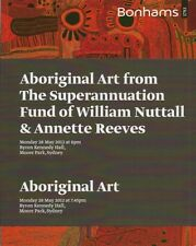 RARE - BONHAMS ABORIGINAL Australian TRIBAL ART Auction Two Catalog Set 2012