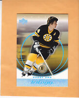 2003 04 UPPER DECK TRILOGY BOBBY ORR #8 BOSTON BRUINS
