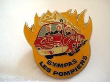 PINS TRUCK CAMION SYMPAS LES POMPIERS