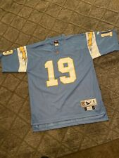 SAN DIEGO CHARGERS LANCE ALWORTH NFL REEBOK VINTAGE COLLECTION THROWBACK JERSEY