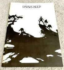 Uriah Heep Japan Tour 73 Concert Program Book