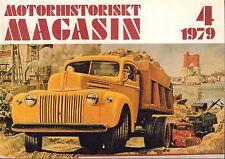 Motorhistoriskt Magasin Swedish Car Magazine 4 1979 Volvo 032717nonDBE