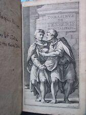 TOMASINI : DE TESSERIS HOSPITALITALIS, 1670 + TITUS LIVIUS, 1670. Planches.