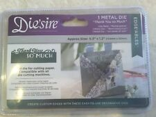 Die'sire Edge'ables Thank You So Much Die by Crafter's Companion NEW