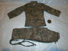 Alert Line German camo jacket & trousers ( plane tree) 1/6th scale toy accessory