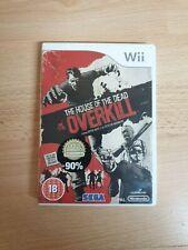 Wii-House of the Dead Overkill En Caja Completo-MBC-Nintendo