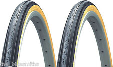 "2PACK Classic KENDA K35 Gumwall 27x1-1/4"" Road Bike Tires 27"" Pair"