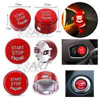 Botón de arranque rojo para Bmw modelos F start stop 2 medidas disponibles