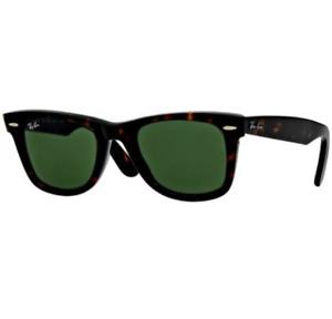 Ray-Ban RB2140 902 Wayfarer 50mm TortoiseFrame/G-15 Lens Sunglasses