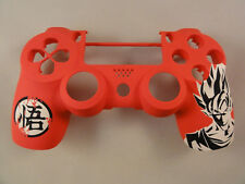 Dragon Ball Soft Touch Front Face Shell For PS4 Controller New - For current gen
