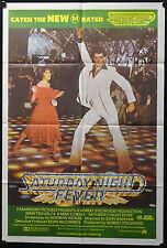 Saturday Night Fever (1977) Australian One Sheet JOHN TRAVOLTA