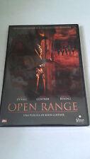 """DVD """"OPEN RANGE"""" KEVIN COSTNER ROBERT DUVALL ANNETTE BENING"""