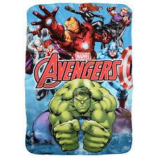 Children's Comic Book Heroes Blankets