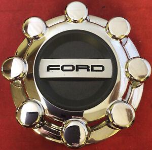 ONE Ford F-250 F-350 OEM FACTORY CHROME Wheel Center Cap  HC3C-1A096-KD 10283