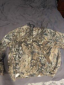 Browning Realtree Camo Hoodie Sweatshirt Green Brown Adult Men's 3XL