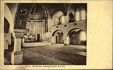 Rom Roma Italien Italia Italy ~1910 Partie Deutsche evangelische Kirche Chiesa
