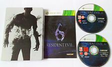 "Resident Evil 6 Steelbook  for Xbox 360  ""FREE UK  P&P"""