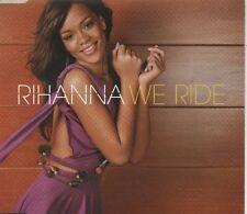 RIHANNA We Ride 2 TRACK CD NEW - NOT SEALED