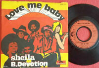 "Sheila B. Devotion / Love Me Baby / Instrumental 7"" Single Vinyl 1977"