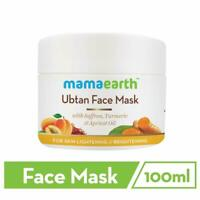Mamaearth Ubtan Face Pack Mask 100 ML For Bright Look