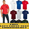 Personalised Embroidered Olympic Polo Shirt Unisex Your Any Text Uniform  UC124
