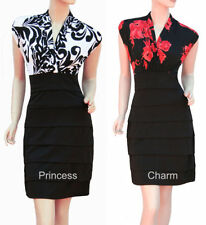 Unbranded Floral Polyester Cocktail Clothing for Women