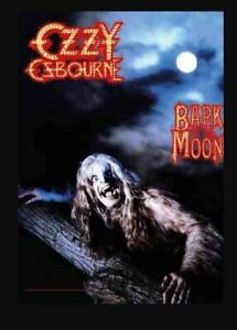 Ozzy Osbourne Bark At The Moon Large Textile Flag/Poster 1100mm x 750mm (hr)