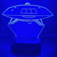 Jupiter 2 (Lost in Space) UFO light