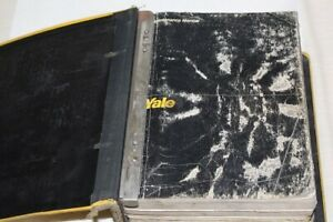 4 Yale Fork Truck Service Parts Manuals ITD-1349 ITD-1397 ITD-1143 ITD-1138