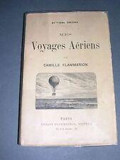 Aérostation Camille Flammarion mes voyages aériens 1911