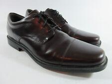Rockport Ellingwood Burgundy Leather Cap Toe Oxford APM1177N Mens Size 13 N