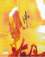 Kimbo SLICE 8x10 Autographed Photo 1 Signed JSA COA UFC BELLATOR MMA TUF