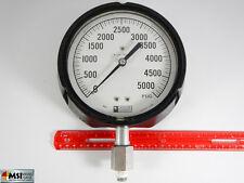 "Weksler 5000 PSI  7""  Pressure Gage"