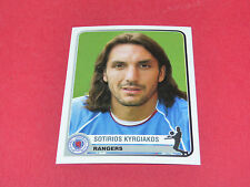 318  KYRGIAKOS GLASGOW RANGERS  UEFA PANINI FOOTBALL CHAMPIONS LEAGUE 2005/2006