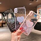 for iPhone 12 Pro 11 Pro Max XS X Anti-Scratch Glitter TPU Case Cover with Stand
