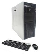 HP Z820 16-Core 2x E5-2680 2.7GHz 128GB Ram 500GB SSD 2TB HDD 2xNvidia k4000 3GB