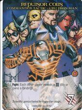 URU ENCHANTED IRON MAN Upper Deck Marvel Legendary COMMANDER REPULSOR COILS