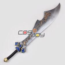 Dynasty Warriors Xiahou Dun/Hsiahou Tun Big Sword PVC Replica Cosplay Prop