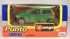 Bburago 1/43 Nr. 4100 P Fiat Punto grün OVP #3144