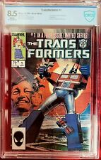 TRANSFORMERS #1 CBCS 8.5 (LIKE CGC) 1ST APPEARANCE AUTOBOTS DECEPTICONS MARVEL
