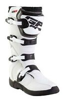 GP PRO COMP TECH 2.1 SERIES MOTOCROSS MX ENDURANCE OFF ROAD RACING BOOTS WHITE