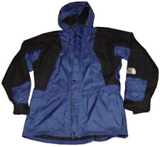 Vtg The North Face Mountain Light Jacket Gore-Tex Shell Blue Black Vented Mens L