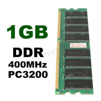 1GB PC3200 DDR 400 MHZ SDRAM Non-ECC 184Pin DIMM PC Desktop Computer Memory
