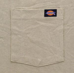 Dickies Heavy Weight Men's T-Shirt Short Sleeve Pocket Work Tee 100% Cotton