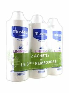 Mustela- Pack of 3 Liniment Nappy Change Lotions