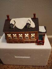 Dept 56 New England Village Stoney Brook Town Hall 1992 Mfg #5644-8
