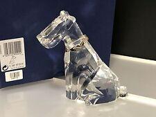 Swarovski Figur Symbol Hund / Terrier 13 cm. Mit Ovp & Zertifikat, Top Zustand.