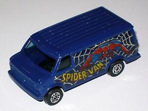 Spider-Man Chevy Van 1978 - CORGI JUNIORS 56 1:67 scale Diecast Model Car LOOSE